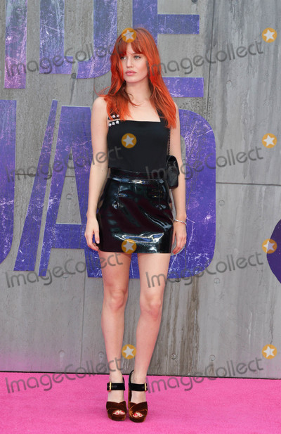 Georgia May Jagger Photo - London, UK. Georgia May Jagger at the European Premiere of 'Suicide Squad' at the Odeon Leicester Square, London on August 3rd 2016