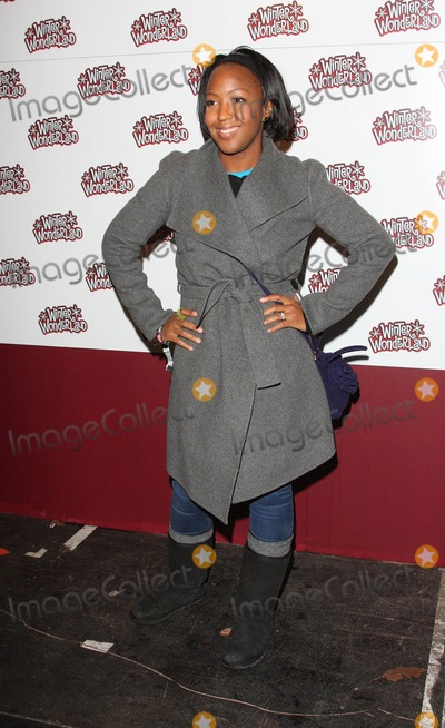 Angellica Bell Photo - London.UK. Angellica Bell at the Winter Wonderland VIP Preview at Hyde Park, London . 18th November 2010.