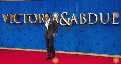 Ali Fazal, Gary Mitchell Photo - London, UK. Ali Fazal at the 'Victoria & Abdul' UK premiere held at Odeon Leicester Square on September 5, 2017 in London, England.Ref: LMK386-J706-060917Gary Mitchell/Landmark MediaWWW.LMKMEDIA.COM