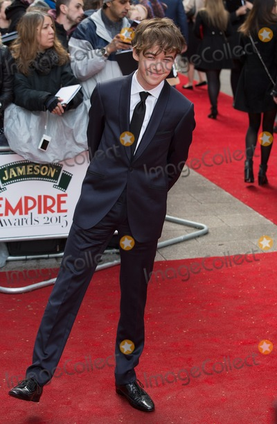 Alex Lawther Photo - London, UK. Alex Lawther  at the Jameson Empire Film Awards at the Grosvenor House Hotel in London on 29 March 2015.