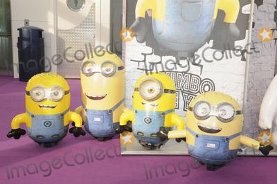 Photo - London. UK.  Minions, Despicable Me at the Toy Fair, Olympia. 20th January 2015. Ref:LMK326-50456-220115Matt Lewis/Landmark MediaWWW.LMKMEDIA.COM.