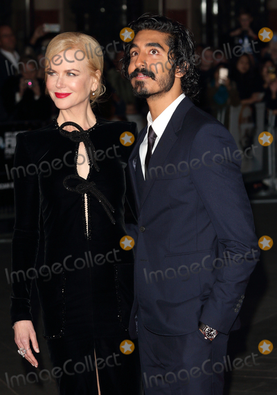 Dev Patel, Nicole Kidman Photo - London, UK. Dev Patel and Nicole Kidman at BFI London Film Festival American Express Gala - Lion - at the Odeon Leicester Square. London on October 12th 2016