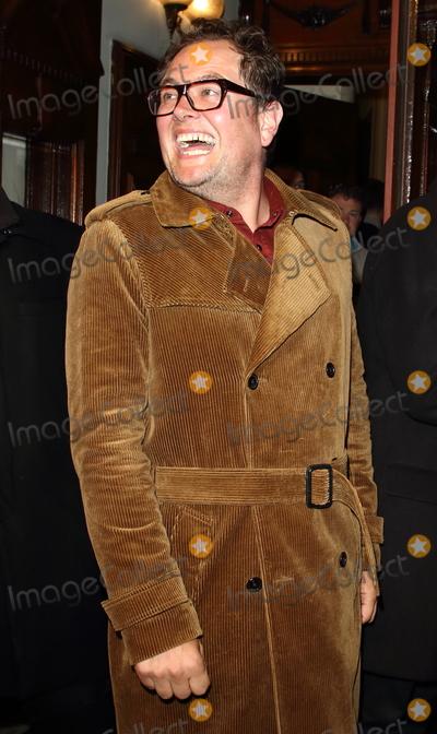 Alan Carr, Leicester Square Photo - London, UK. Alan Carr at The Starry Messenger Press Night at the Wyndhams Theatre, Leicester Square, London on May 29th 2019Ref: LMK73-J4975-300519Keith Mayhew/Landmark MediaWWW.LMKMEDIA.COM