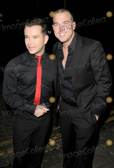 Andy Cowles, Christopher Biggins Photo - London, UK. Stephen Gateley and Andy Cowles at the Christopher Biggins' 60th Birthday party, held at the Landmark Hotel in London. 15th December 2008.Ref: LMK315-Can Nguyen/Landmark Media