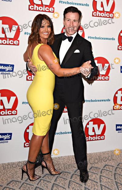 Anton Du Beke, Rebekah Vardy Photo - London, UK. Rebekah Vardy, Anton Du Beke  at The TV Choice Awards held at The Dorchester Hotel, London on Monday 10 September 2018Ref: LMK392-J2580 -110918Vivienne Vincent/Landmark Media. WWW.LMKMEDIA.COM.