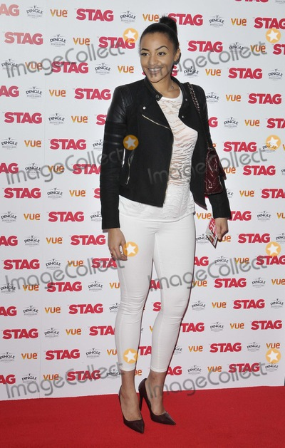 Amal Fashanu, Leicester Square Photo - London. UK. Amal Fashanu at  the  The Stag  gala film screening, Vue West End cinema, Leicester Square. 13th March  2014 in London, England, UK.Ref:LMK315-47860-140314 Can Nguyen/Landmark MediaWWW.LMKMEDIA.COM.