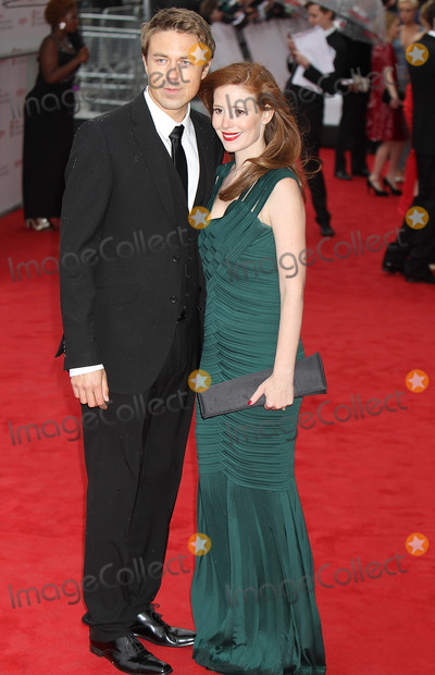 Amy Nuttall, andrew buchan Photo - London. UK. Andrew Buchan and Amy Nuttall at the Arquiva British Academy TV Awards 2013 at the Royal Festival Hall in London. 12th May 2013.