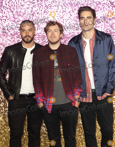 Busted Photo - London, UK. Busted at Bohemian Rhapsody UK Premiere at the SSE Arena Wembley, London on Tuesday 23 October 2018.Ref: LMK73-J2846-241018Keith Mayhew/Landmark MediaWWW.LMKMEDIA.COM