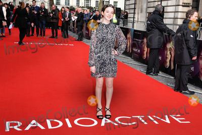 Ariella Glaser Photo - London, UK Ariella Glaser at Radioactive UK Premiere held at Cuzon Mayfair, London on Sunday 8 March 2020 Ref: LMK392-2982-080320Vivienne Vincent/Landmark Media. WWW.LMKMEDIA.COM.