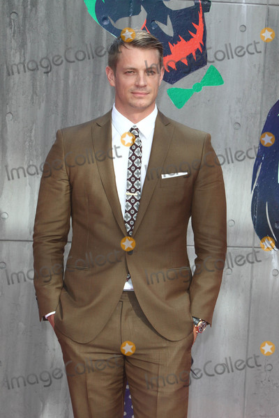 Joel Kinnaman Photo - London, UK. Joel Kinnaman at the European Premiere of 'Suicide Squad' at the Odeon Leicester Square, London on August 3rd 2016