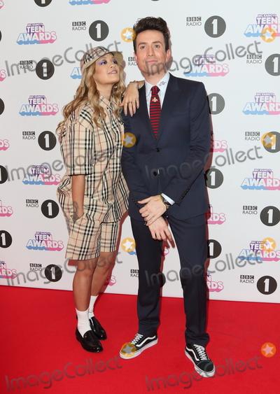 Nick Grimshaw, Rita Ora, Nick Grimshaws, Rita  Ora Photo - London, UK. Rita Ora and Nick Grimshaw at BBC Radio 1 Teen Awards at SSE Arena Wembley, London on Sunday 22 October 2017.Ref: LMK73-J997-231017Keith Mayhew/Landmark MediaWWW.LMKMEDIA.COM