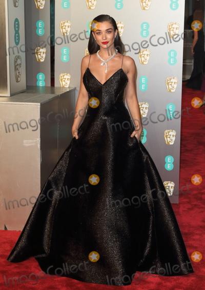 Amy Jackson, Albert Hall Photo - London, UK. Amy Jackson at EE British Academy Film Awards at the Royal Albert Hall, Kensington, London on Sunday February 10th 2019Ref: LMK73-J4345-110219Keith Mayhew/Landmark Media. WWW.LMKMEDIA.COM.