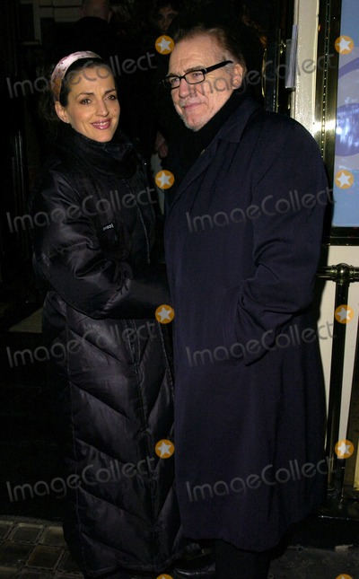 Brian Cox Photo - London. UK. Brian Cox and guest  at 'The Lady From Dubuque' gala evening held at the Theatre Royal Haymarket. 19th March 2007. Can Nguyen/Landmark Media