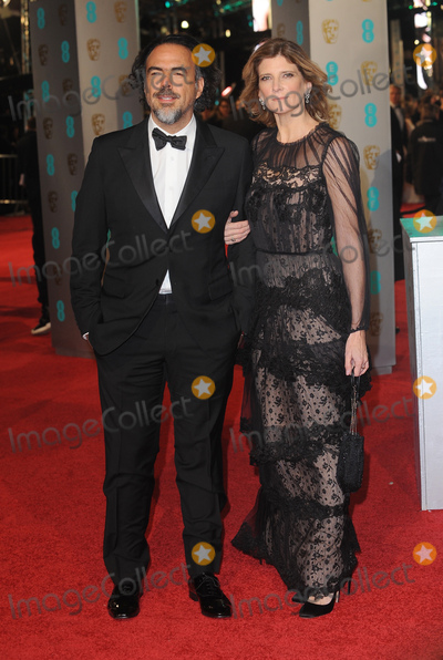 Alejandro G.Inarritu Photo - London.UK. Alejandro G. Inarritu and Maria Eladia    at the EE British Academy Film Awards (BAFTA) 2016  at the Royal Opera House, Covent Garden, London. 14th February 14th 2016. Ref:LMK200-59989-150216. 