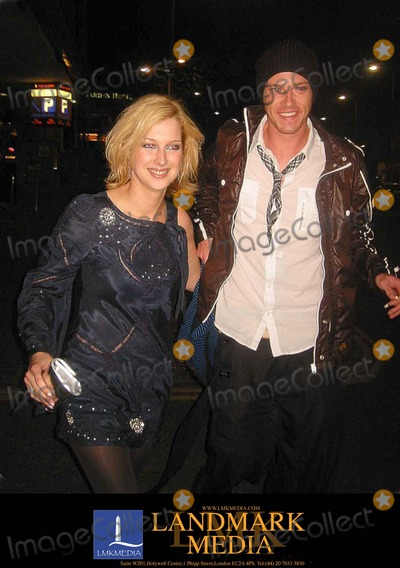 Andrew Moss, Gemma Bissix, London Hotels Photo - London.UK.    Gemma Bissix (Claire in 'EastEnders') and Andrew Moss (Rhys in 'Hollyoaks')    at a party in a London hotel after the British Soap Awards were held earlier at the BBC TV Centre. 3rd May 2008. Zak/Landmark Media.