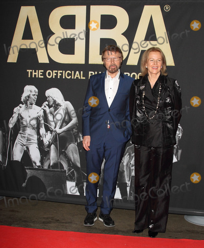 ABBA, Anni Frid Lyngstad, Anni-Frid Lyngstad, Annifrid Lyngstad, Bjrn Ulvaeus, The Interns Photo - London, UK. Bjrn Ulvaeus and Anni-Frid Lyngstad at ABBA  The International Anniversary Party marking the 40th Anniversary of their Eurovision Victory and the launch of 'ABBA  The Official Photo Book at the Tate Modern, London on April 7th 2014.