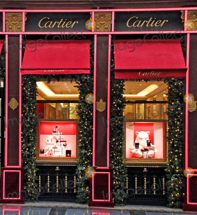 Photo - London, UK. It's Beginning to look like Christmas as stores and streets are decorated for the festive season despite the current Second Lockdown in force. London November 19th 2020
