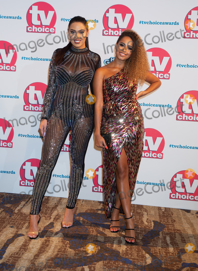 THE HILTONS, Anna Vakili, Amber Gill, Anna Maria Perez de Taglé Photo - London, UK. Anna Vakili and Amber Gill  at TV Choice Awards 2019- Red Carpet Arrivals at Park Lane The Hilton in London on 9 September, 2019.