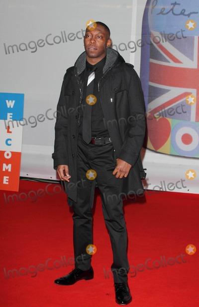 Dizzee Rascal, Dizzee Rascall Photo - London, UK. Dizzee Rascal at the Brit Awards 2012 Red Carpet Arrivals at the O2 Arena. 21st February 2012.Keith Mayhew/Landmark Media