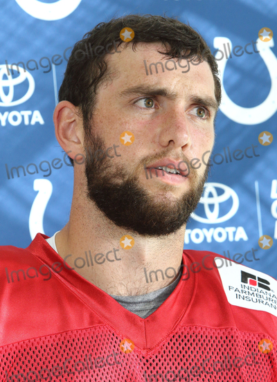 Andrew Luck, Jaguares, Wembley Stadium Photo - Watford. Herts. Andrew Luck  at the Indianapolis Colts Press Conference at The Grove Hotel, Chandlers Cross, Watford. ndianapolis are here to play in the latest NFL International Series game at Wembley Stadium vs Jacksonville Jaguars on Sunday October 2nd 2016. 30th September 2016. 