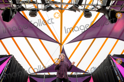 Alan Davies Photo - Southwold, Suffolk.  Comedian Alan Davies performs in the Comedy Arena on the second day of the 2018 Latitude Festival  at Henham Park near Southwold, Suffolk. 14th July 2018