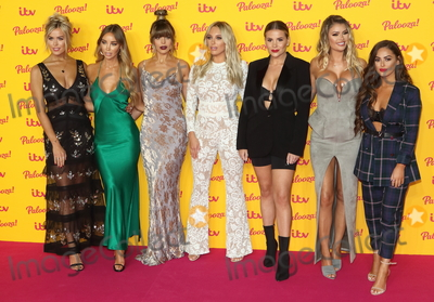Courtney Green, Lauren Pope, Chloe Sims, Georgia Kousoulou, Chloe Lewis, Chloe Meadows, Amber Turner Photo - London, UK. Chloe Meadows, Lauren Pope, Chloe Lewis, Amber Turner, Georgia Kousoulou, Chloe Sims and Courtney Green