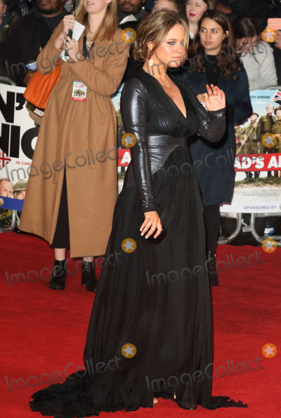 Emily Atack, Leicester Square Photo - London, UK. Emily Atack at 'Dad's Army'  World Premiere at the Odeon, Leicester Square, London, England. 26th January 2016.