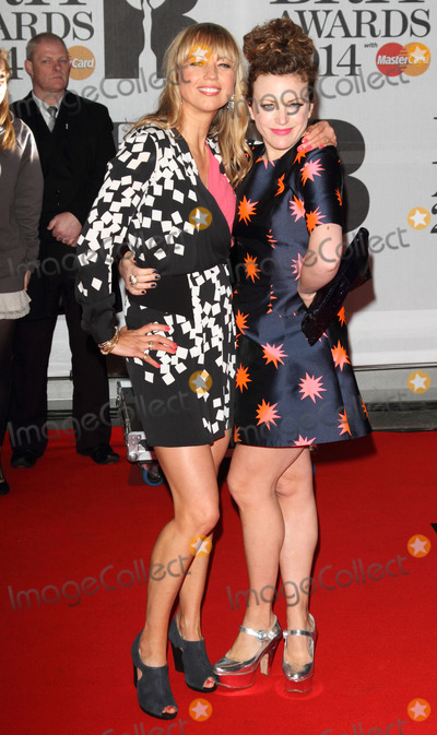 Annie Mac, Sara Cox, Sara  Cox Photo - London. UK.   Sara Cox and Annie Mac  at the 
