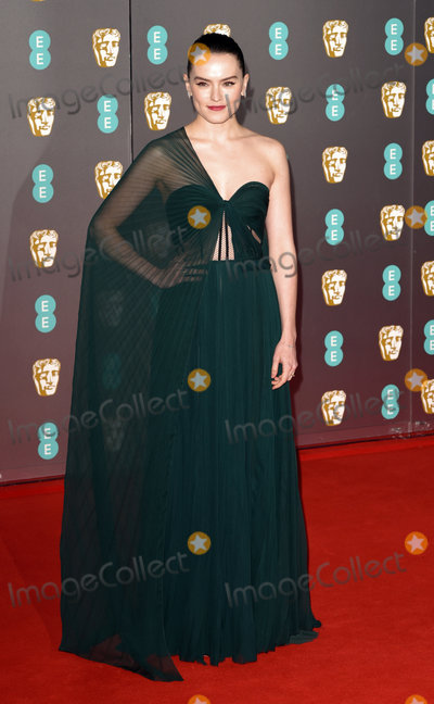 Daisy Ridley, Albert Hall Photo - London, UK Daisy Ridley at the 73rd British Academy Film Awards held at The Royal Albert Hall, South Kennsington, on Sunday 2 February 2020 Ref: LMK392-S2827-040220Vivienne Vincent/Landmark Media. WWW.LMKMEDIA.COM.