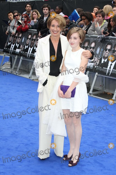 Emma Thompson, Leicester Square Photo - London, UK.  Emma Thompson and daughter Gaia Romilly  at the UK Premiere of Men In Black 3 held at the Odeon, Leicester Square.