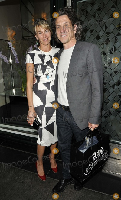 Stephen Webster, Covent Garden Photo - London, UK. Assia Webster & Stephen Webster attending Jake Arnott's new book, The House of Rumour,  launch party, The Ivy Club, West Street, Covent Garden, London, England. 9th July 2012.Can Nguyen/Landmark Media.