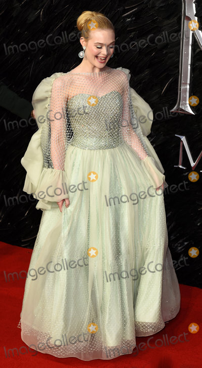 Elle Fanning Photo - London, UK. Elle Fanning at Maleficent: Mistress Of Evil European Premiere held at BFI Imax, Waterloo on Wednesday  9 October 2019Ref: LMK392 -J5592-101019Vivienne Vincent/Landmark Media. WWW.LMKMEDIA.COM.