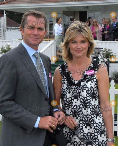 Anthea Turner, Chris Evans, Grant Bovey Photo - Windsor. Berkshire. UK.  TV presenter Anthea Turner and her business husband Grant Bovey  at the Guards Polo Club in  Windsor Great Park.  The couple who are said to have recently bought the house of DJ/TV presenter Chris Evans  for 5 million. 21st June 2009. Syd/Landmark Media
