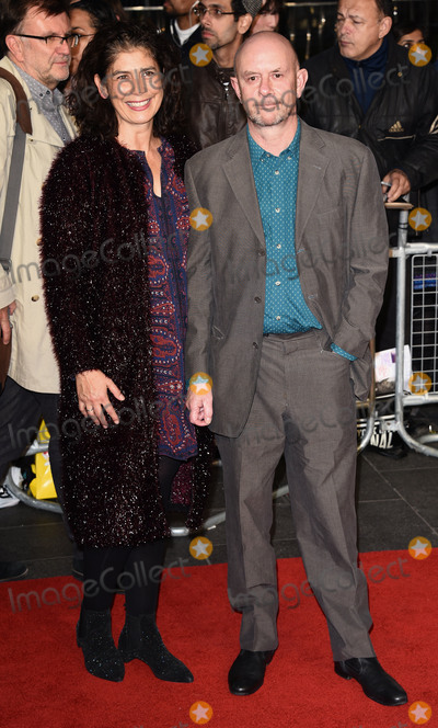 Amanda Posey, Nick Hornby Photo - London, UK. Amanda Posey and Nick Hornby at London Film Festival Gala Premiere of Brooklyn at Odeon, Leicester Square, London on Monday 12 October 2015 Ref: LMK392-58359-131015Vivienne Vincent/Landmark Media. WWW.LMKMEDIA.COM.