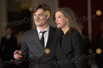 Alexandra Maria Lara, Sam Riley, Anna Maria Perez de Taglé, Leicester Square Photo - London, UK. Sam Riley and wife Alexandra Maria Lara at 'Pride and Prejudice and Zombies' UK Film Premiere at the Vue West End, Leicester Square, London on February 1st 2016.
