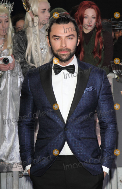 Aidan Turner, Leicester Square Photo - London, UK. Aidan Turner at World Premiere of 'The Hobbit: The Battle of the Five Armies' at Odeon Leicester Square, London on December 1st 2014Ref: LMK73-50199-021211Keith Mayhew/Landmark Media. WWW.LMKMEDIA.COM