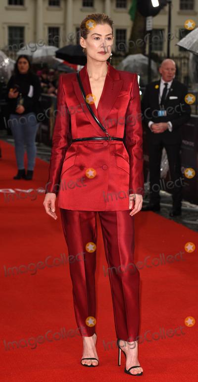 Rosamund Pike Photo - London, UK Rosamund Pike at Radioactive UK Premiere held at Cuzon Mayfair, London on Sunday 8 March 2020 Ref: LMK392-2982-080320Vivienne Vincent/Landmark Media. WWW.LMKMEDIA.COM.