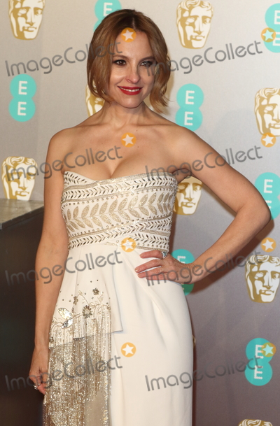 Photo - London, UK. Marina de Tavira at EE British Academy Film Awards 2019 at the Royal Albert Hall, Kensington, London on Sunday February 10th 2019Ref: LMK73-J4348-110219Keith Mayhew/Landmark MediaWWW.LMKMEDIA.COM