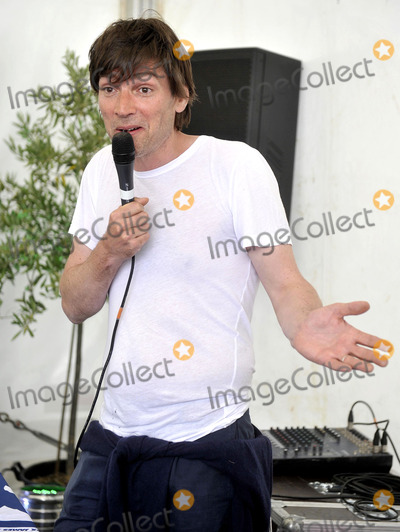 Alex James Photo - Oxfordshire, UK. Alex James at The Big Feastival, held at Alex James' Farm in Kingham. 1st September 2012.