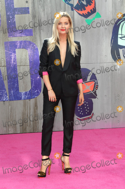 Laura Whitmore, Laura  Whitmore, Laura Whitmor Photo - London, UK. Laura Whitmore at the European Premiere of 'Suicide Squad' at the Odeon Leicester Square, London on August 3rd 2016