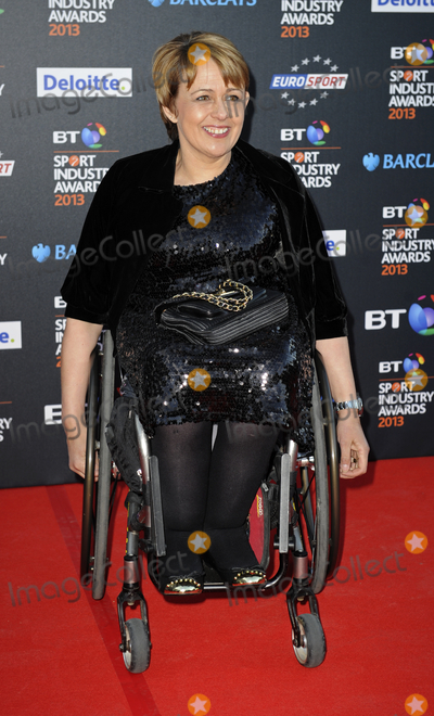 Tanni Grey Thompson, Tanni Grey-Thompson, Tanny Grey Thompson, Tanny Grey-Thompson, Gary Mitchell Photo - London, UK. Baroness Tanni Grey Thompson at the BT Sport Industry Awards at Battersea Evolution, London. May 2nd 2013