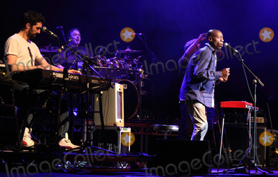 Andrew Roachford, Genesis, Mike Rutherford, Tim Howar Photo - St Albans, UK. Mike and the Mechanics - formed by Genesis guitarist Mike Rutherford and also featuring lead singer Tim Howar and on keyboards and lead vocals Andrew Roachford play live at the Alban Arena, St Albans, Hertfordshire on March 9th 2014.Ref: LMK73-44847-100314Keith Mayhew/Landmark Media. WWW.LMKMEDIA.COM.
