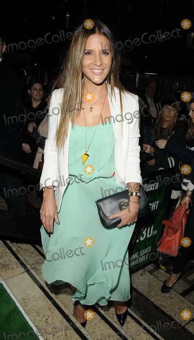 Amanda Byram Photo - London, UK. Amanda Byram at the Wicked VIP media night performance, held at Apollo Victoria Theatre, Wilton Rd. 20th December 2012.