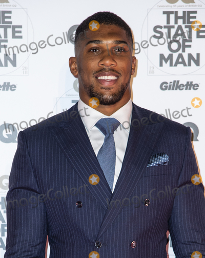 Anthony Joshua, Gary Mitchell, Covent Garden Photo - London, UK. Anthony Joshua  at the GQ 30th anniversary party at SUSHISAMBA Covent Garden on October 29, 2018 in London, England.