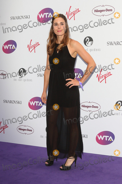 Alize Cornet Photo - London, UK. Alize Cornet at WTA Pre-Wimbledon Party at Kensington Roof Gardens,London on June 29th 2017.Ref: LMK73-J477-300617Keith Mayhew/Landmark MediaWWW.LMKMEDIA.COM