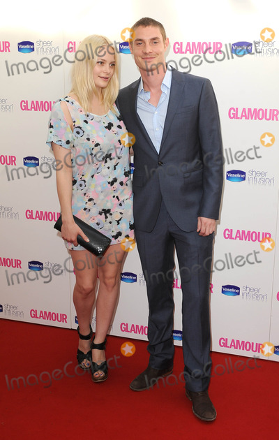 Photo - London, UK.  080610.Annabelle Horsey and guest at the 2010 Glamour Awards held in Berkeley Square. 8 June 2010.Eric Best/Landmark Media   .