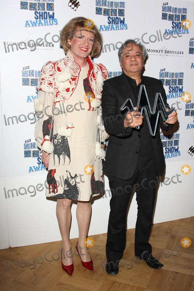 Anish Kapoor, Grayson Perry Photo - London, UK.  Grayson Perry and Anish Kapoor at The South Bank Show Awards held at the Dorchester Hotel in Park Lane. 