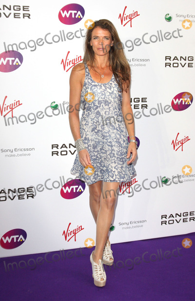 Annabel Croft, Annabelle Croft Photo - London. UK. Annabel Croft  at the  Pre-Wimbledon Tennis Tournament Party.   Kensington Roof Gardens. 16th June 2011. Keith Mayhew/Landmark Media.