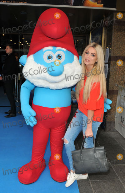"Nicola McClean, 112, The Smurfs Photo - London, UK.  Nicola McClean  at the ""Smurfs: The Lost Village"" gala film screening, Cineworld Leicester Square.  20th March 2017.
