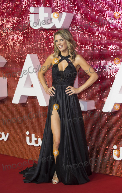 Charlotte Hawkins, Gary Mitchell Photo - London, UK.  Charlotte Hawkins  at  the ITV Gala held at the London Palladium on November 9, 2017 in London, England